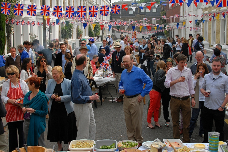 Our Royal Wedding Street Party