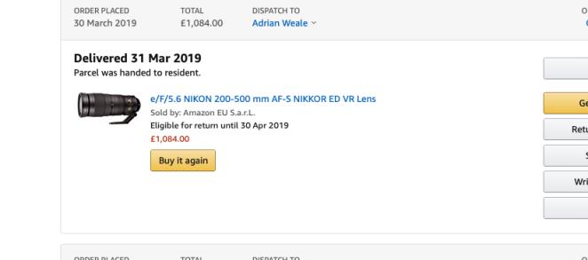 Amazon co uk: a cautionary tale… – Adrian Weale